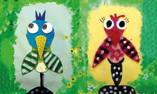 Filcowe ptaki-dziwaki