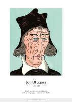Jan Długosz – karykatura