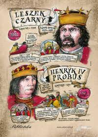 Leszek Czarny, Henryk Probus – Poczet królów polskich