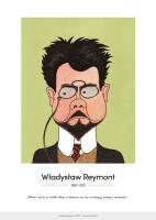 Władysław Reymont – karykatura
