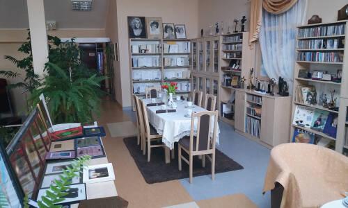 Salonik Ireny Santor wbibliotece w Solcu Kujawskim