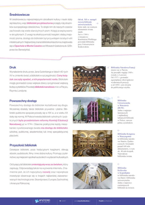 Historia bibliotek