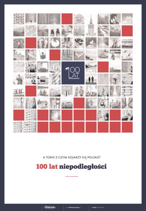 Plakat na 100-lecie niepodległości