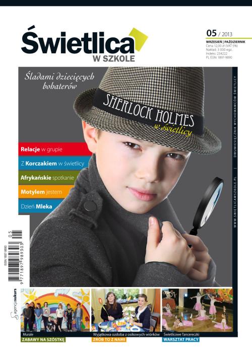 Wszystko dla Szkoły – numer 05/2013 - Sherlock Holmes w świetlicy