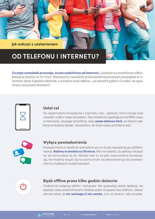 Jak walczyć z uzależnieniem od telefonu i internetu?