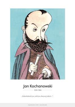Jan Kochanowski – karykatura
