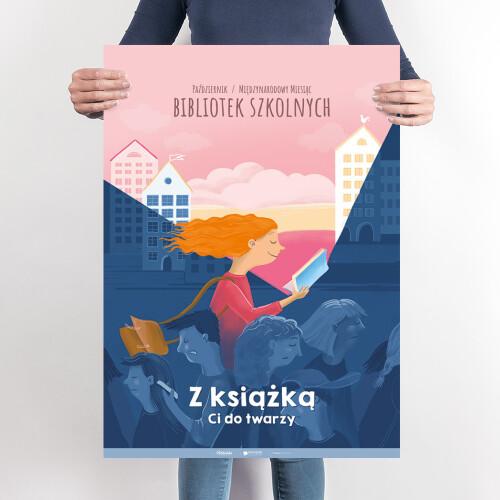 """Międzynarodowy Miesiąc Bibliotek Szkolnych 2020 – """"Z książką Ci do twarzy"""""""