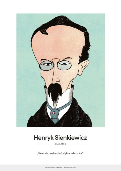 Henryk Sienkiewicz – karykatura
