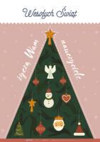 Wesołych Świąt życzą Wam nauczyciele