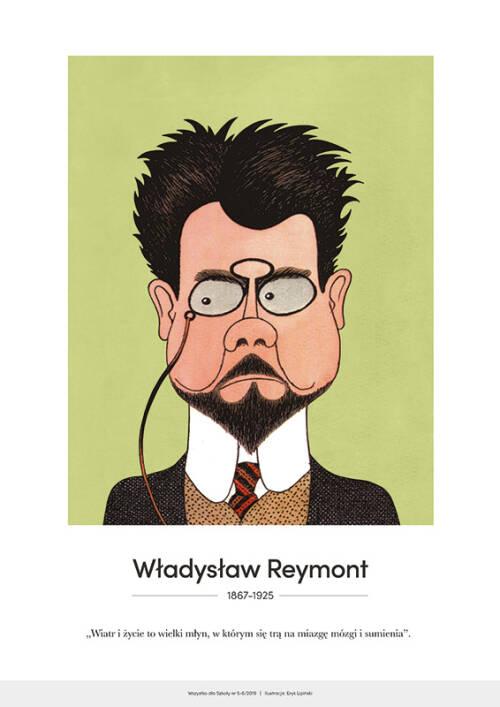 PAKIET: Karykatury pisarzy polskich