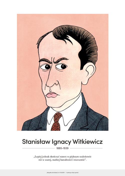 Stanisław Ignacy Witkiewicz – karykatura