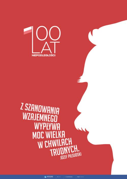 100-lecie niepodległości – Piłsudski