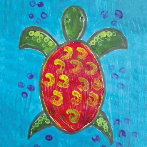 Żółw – mieszkaniec głębin