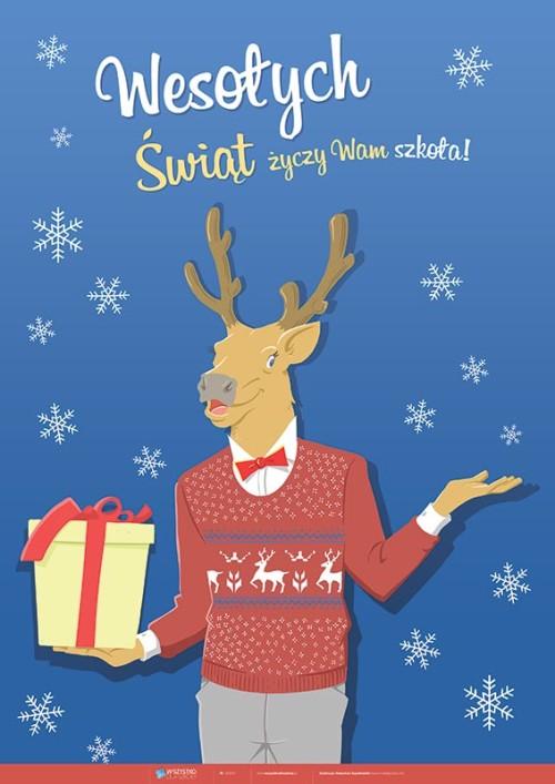 Szkoła życzy Wam Wesołych Świąt!