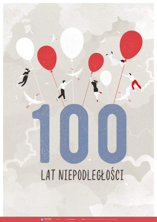 100-lecie niepodległości – balony