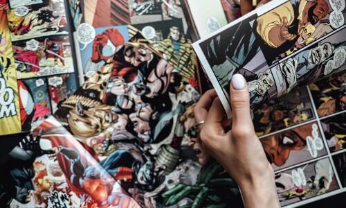Przygoda z komiksami