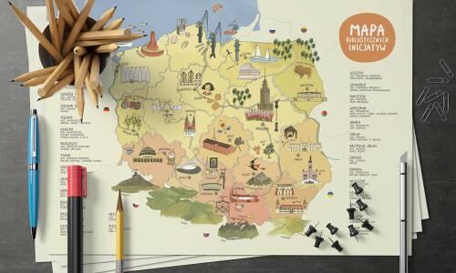 Mapa bibliotecznych inicjatyw