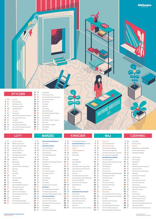 Kalendarz biblioteki 2021