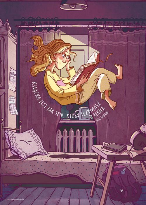 Książka jest jak sen...