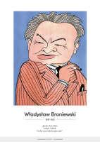 Władysław Broniewski – karykatura