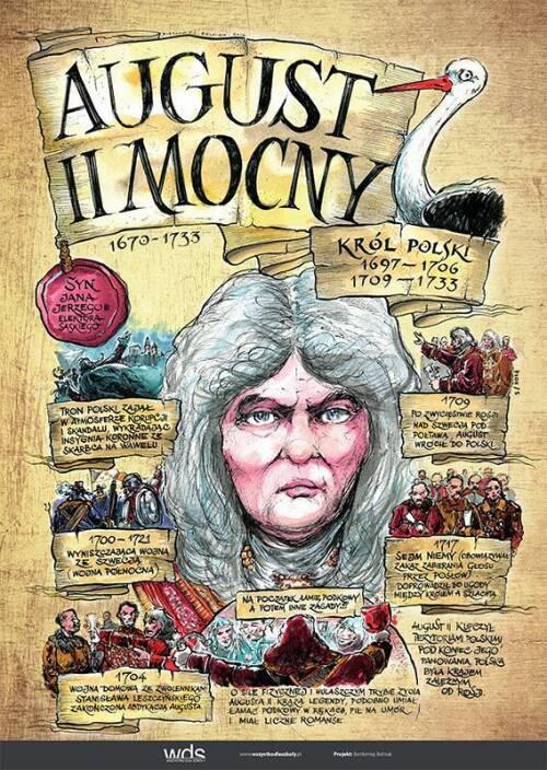 August II Mocny – Poczet królów polskich