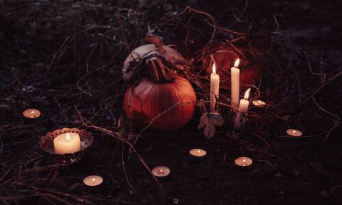 Halloween, Wszystkich Świętych i Zaduszki w bibliotece