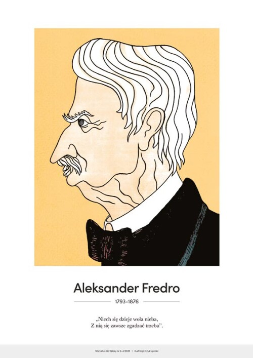 Aleksander Fredro – karykatura