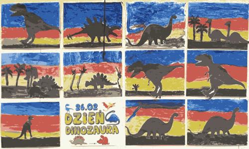 W świecie dinozaurów