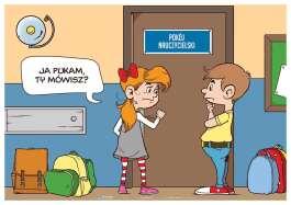 Pokój nauczycielski - Plakat na drzwi