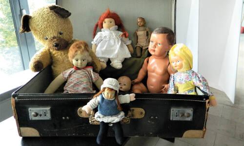 Zabawki z kufra naszych dziadków