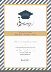 Pożegnanie absolwentów