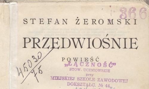 Przedwiośnie Stefana Żeromskiego